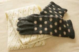マフラー&手袋